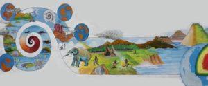 Mural del colegio de geólogos
